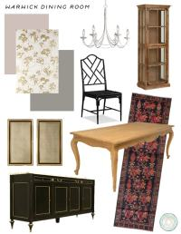 Hollywood Regency Style Dining Room: 1930s Throwback