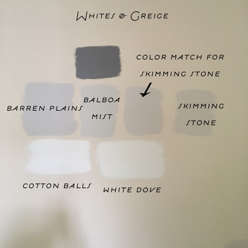 Brown Gray Wall Paint Color
