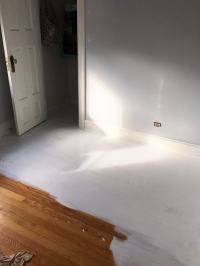 Painting A Wood Floor White