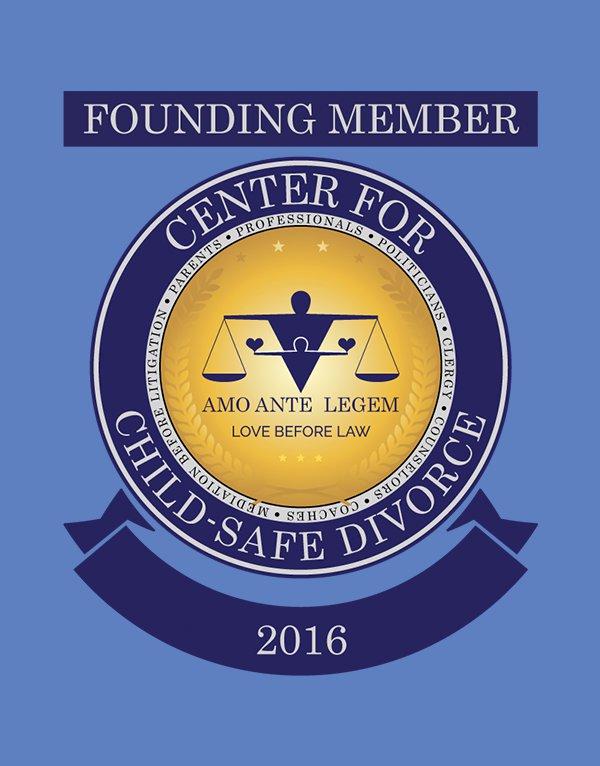 Center for Child-Safe Divorce - Founding Member Cart Crest