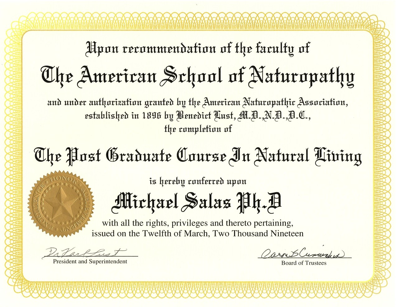 This image has an empty alt attribute; its file name is American-School-of-Naturopathy-Diploma.jpg