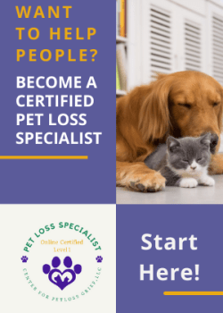 Certified Pet Loss Specialist Course