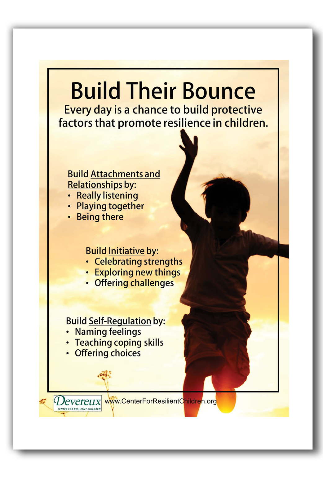 Resilience Building Posters Children Set Of 4