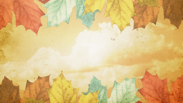 Autumn Fall Wallpaper Free Classic Thanksgiving Leaves Centerline New Media