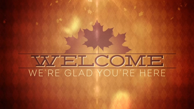 Christian Wallpaper Fall Welcome Fall Bokeh Welcome Centerline New Media