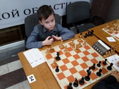 Играет воспитанник ЦЭВДМ Греков Лев