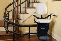 Curved Rail Stair Lifts, Stairlift for Curved Stairs ...