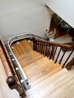 Stair Lift for Home Curved Stair Lift Acorn Stairlifts