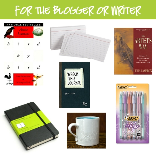 Gifts for bloggers, writers, or aspiring people