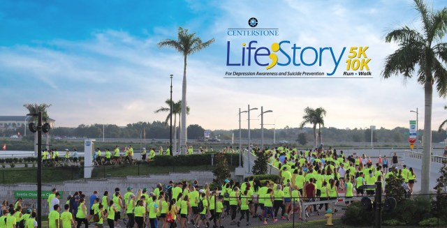 Life;Story Run/Walk 5K/10K to increase depression awareness and share the message that suicide is preventable. Proceeds help Centerstone deliver care that changes people's lives.