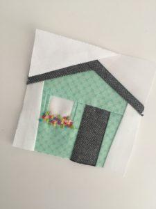 Tiny Houses Quilt Pattern : houses, quilt, pattern, House, Quilt, Block, Center, Street, Quilts