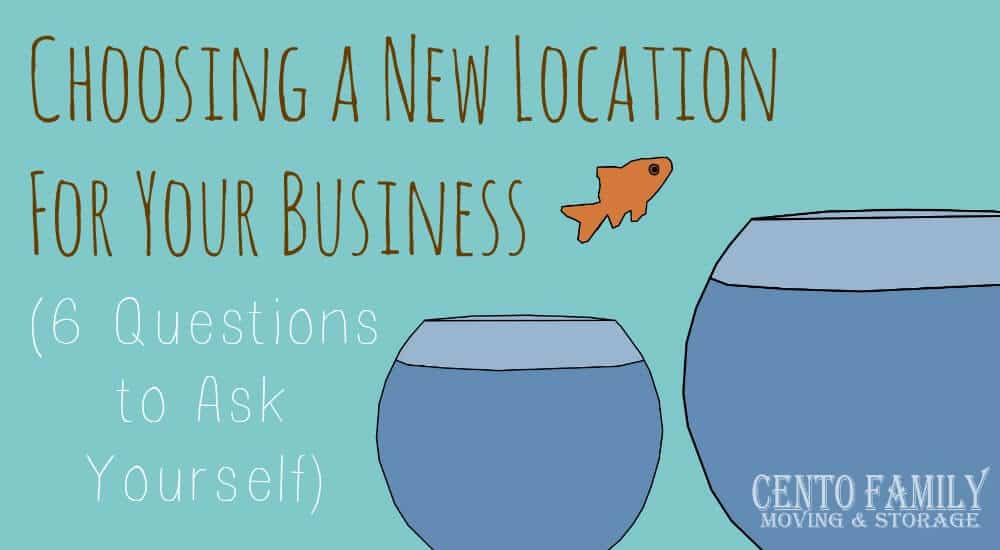 Choosing A New Location For Your Business (6 Questions To