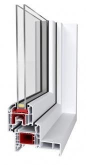 Fenêtre PVC -Aluplast – IDEAL 4000 Monobloc