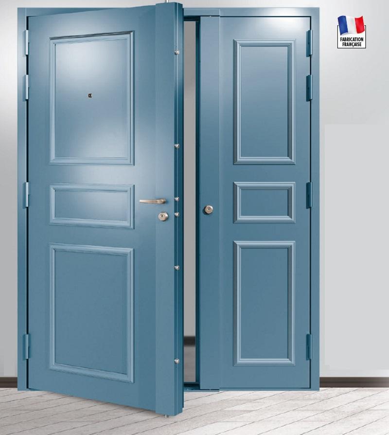 Porte d'entrée sur mesure enFER