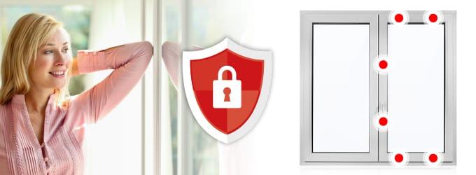 Fenêtre PVC sécurité