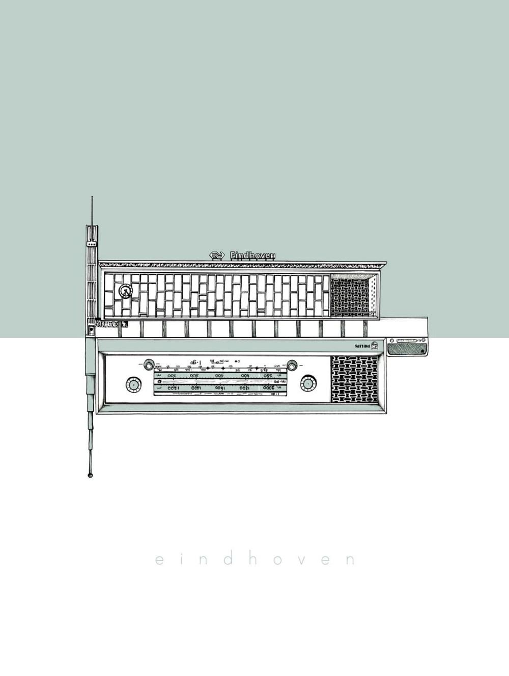 Centprent_eindhoven_illustratie_1500px_station