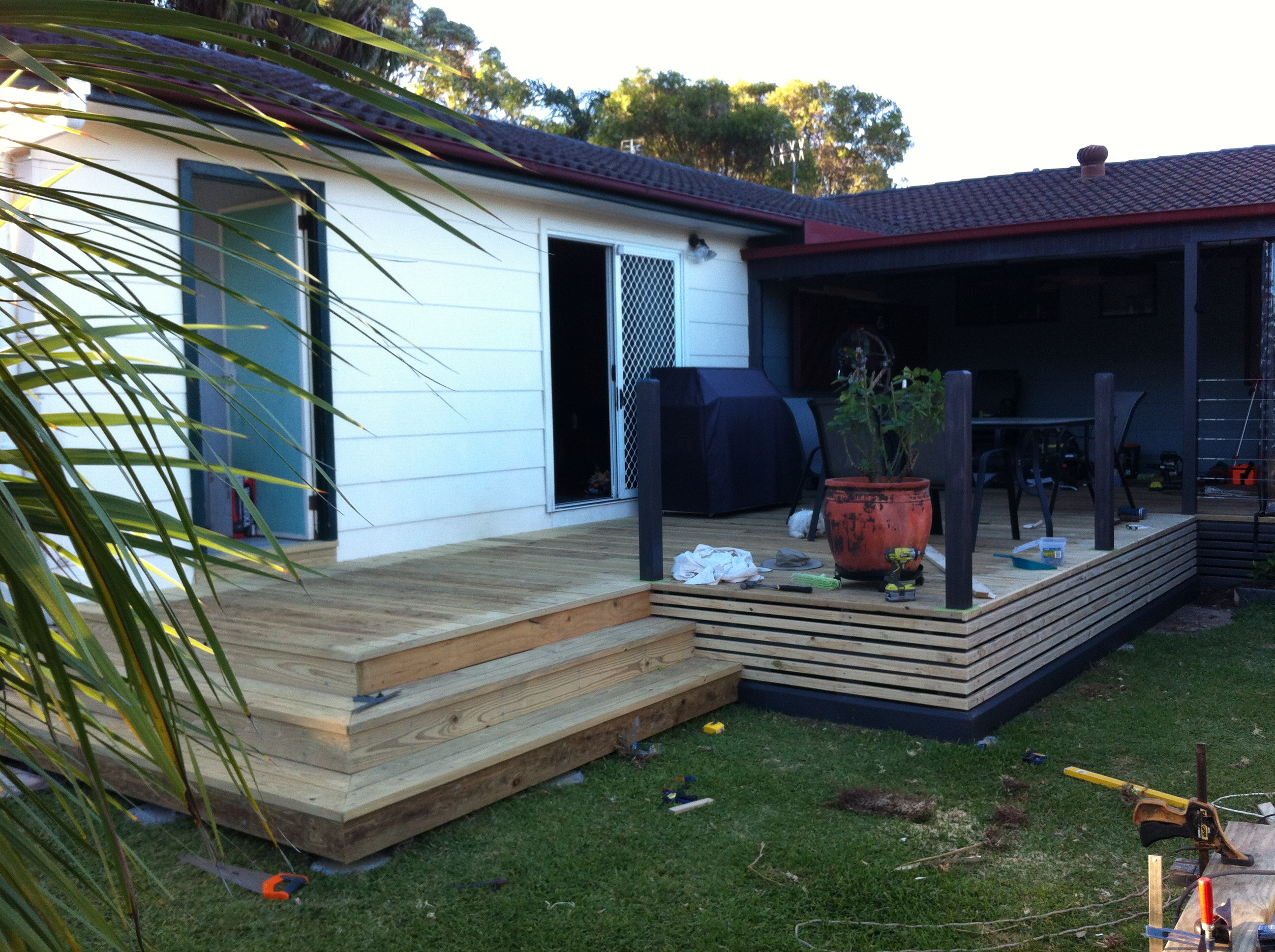 new deck now finished