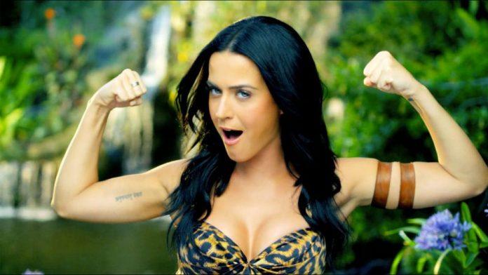 Katy Perry cabelo