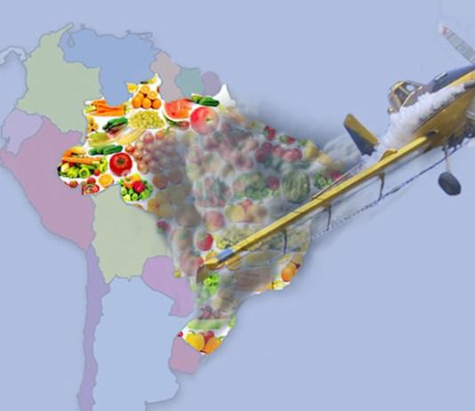 Mapa do envenenamento