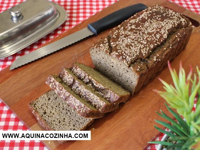 Pão de farinha de beringela
