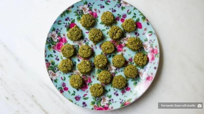 Falafel, bolinho de grão-de-bico