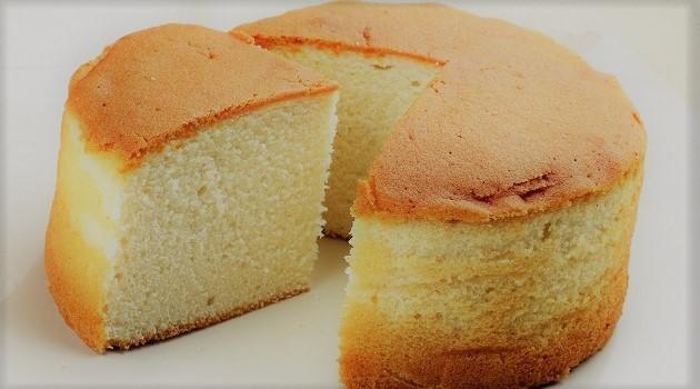 Receita do bolo pão de ló