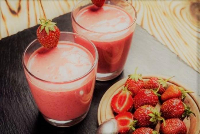 Receita de mousse de morango com a fruta