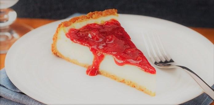 Cheesecake com creme de ricota e Requeijão Cremoso