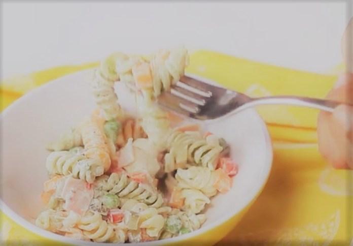 Salada de Macarrão Deliciosa