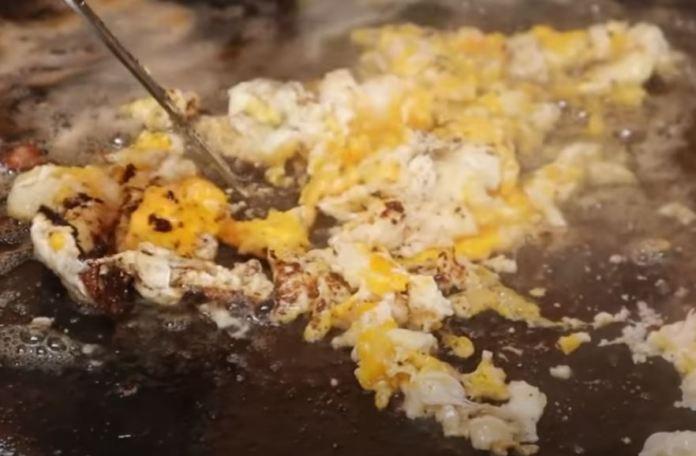 fritado os ovos