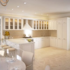Layered lighting in your kitchen