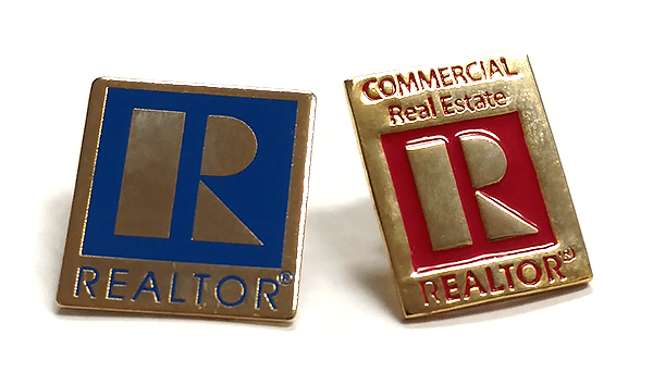 REALTOR® Residential and Commercial Pin For Sale
