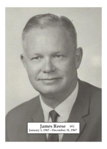 1967 - James Reese