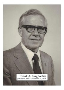 1976 - Frank A Burgdorf