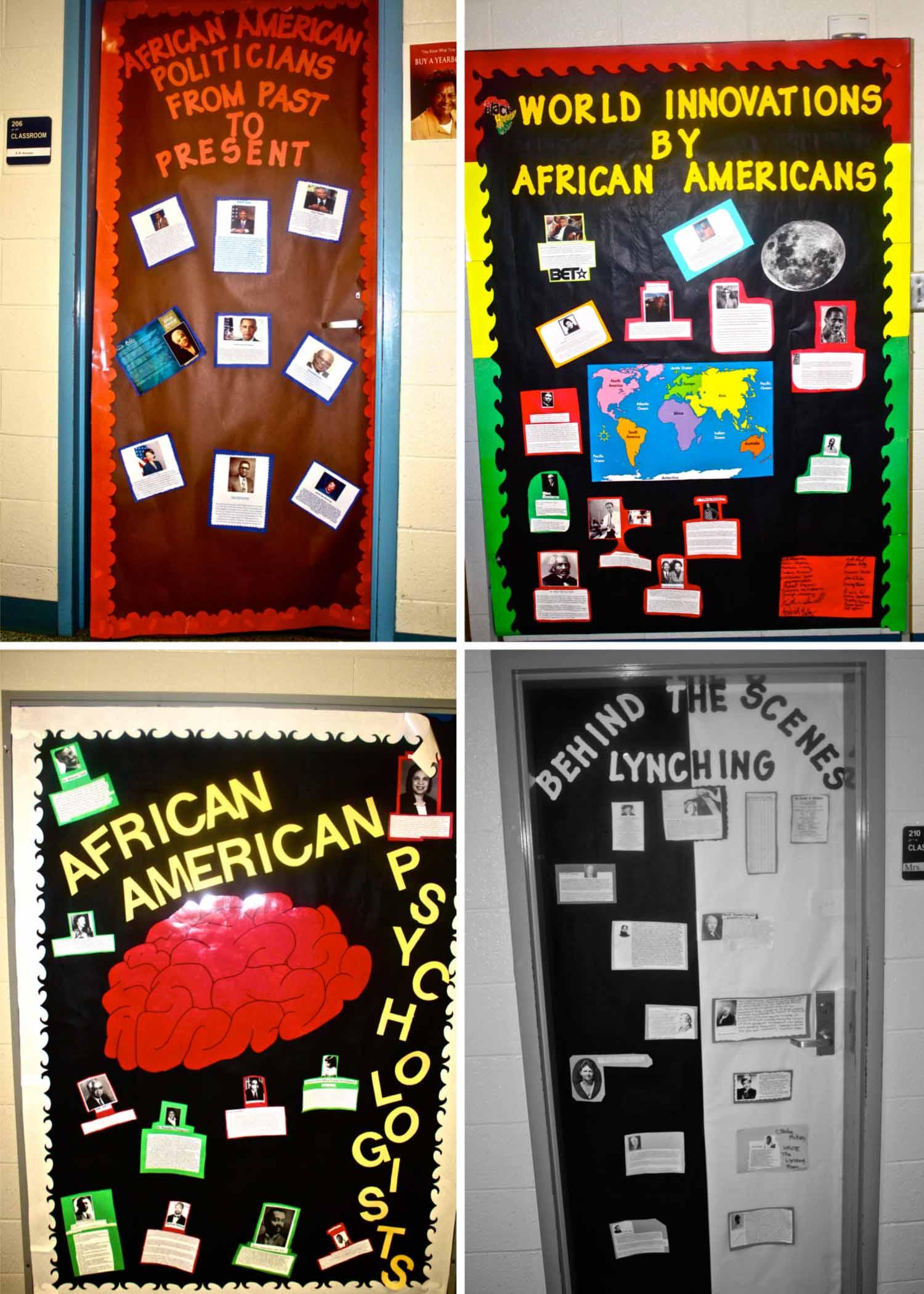 Black History Month Door Contest