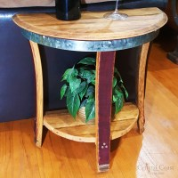 Small Half Moon Side Table - Central Coast Creations