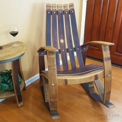 Rocking Chair For Two Lawn Repair Kits Wine Barrel Free Shipping Central Coast