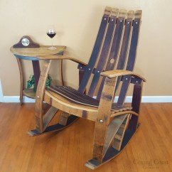 What Is A Rocking Chair Covers Hire Essex Wine Barrel Free Shipping Central Coast