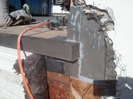 A well detailed corner allows flashing to terminate properly.
