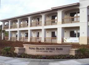Off James Way, Pismo Beach Office Park was completed in 2003