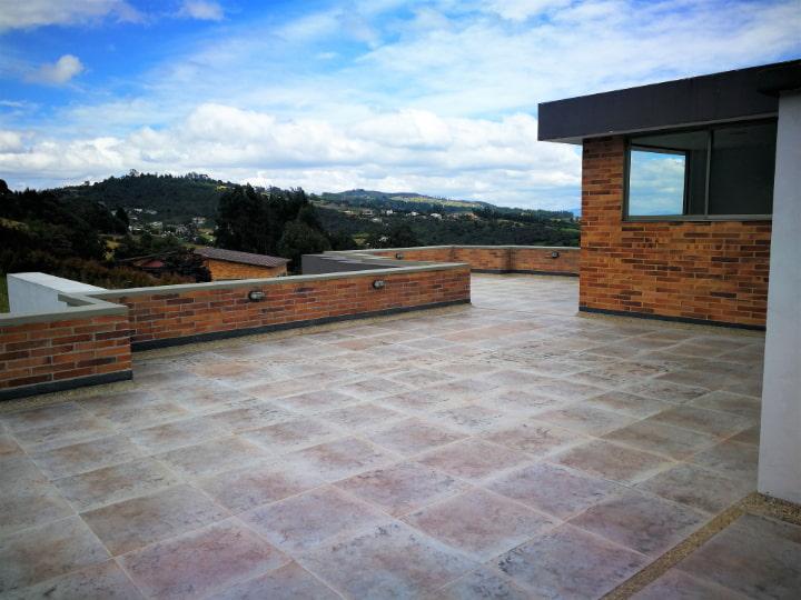 Terraza Venta casa en Altos de Yerbabuena
