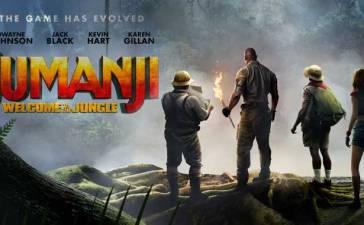 Jumanji regresa al cine