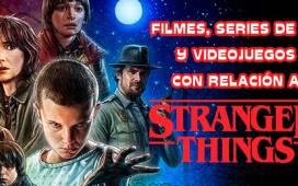 la serie stranger things