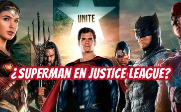 Superman en el filme de Justice League