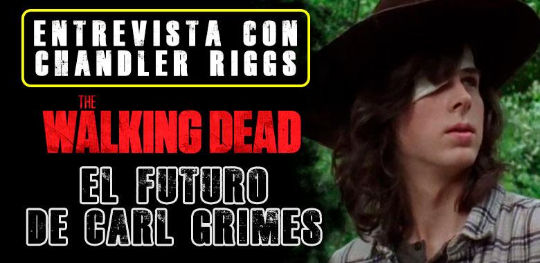 The walking dead El futuro de Carl Grimes