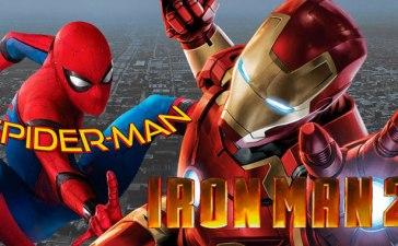 Spiderman en Ironman 2