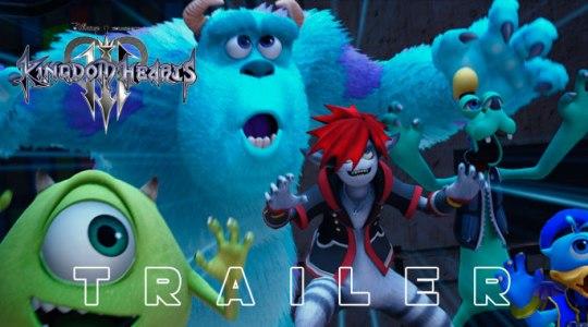 Monsters inc trailer Kingdom Hearts 3