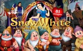 snow white, blanca nieves y los 7 enanos aniversario 81