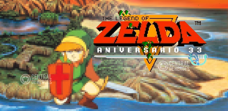 The legend of Zelda Nes aniversario 33