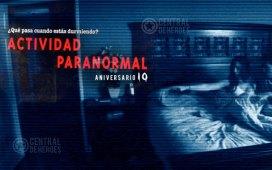 actividad paranormal una historia real , aniversario 10